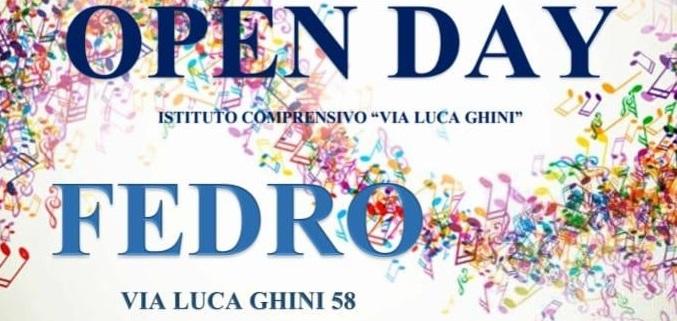 OPEN DAY SCUOLA SECONDARIA FEDRO 20 DICEMBRE 2018