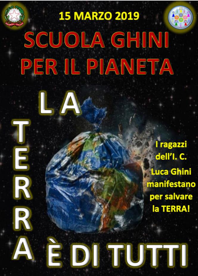 Friday for future. La scuola Ghini per il pianeta