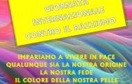 Giovedì 21 marzo. Giornata contro il razzismo